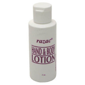 100 Pack Razac Hand & Body Lotion 2 oz