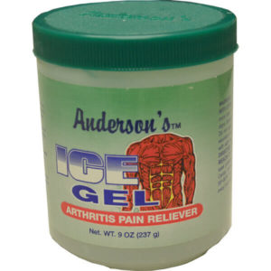 12 Pack Anderson's Ice Gel Arthritis Pain Reliever 9 oz