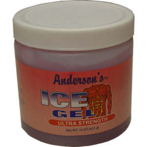 12 Pack Anderson's Ice Gel Ultra Strength 16 oz