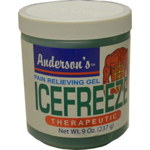 12 Pack Anderson's Icefreeze Therapeutic 9 oz