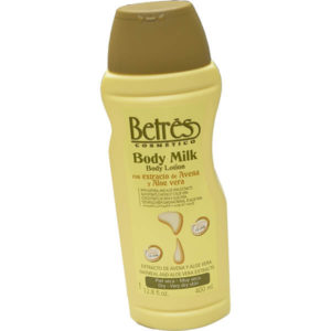 12 Pack Betres Body Lotion Oatmeal and Aloevera 12.8 oz