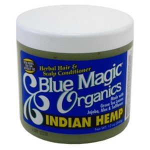 12 Pack Blue Magic Organics Indian Hemp 12 oz