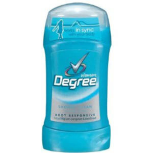 12 Pack Degree Women Antiperspirant Body Responsive Invisible Solid Shower Clean - 2.6 oz