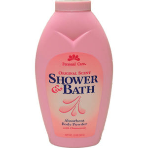 12 Pack Personal Care Powder Shower Bath Pink 15 oz