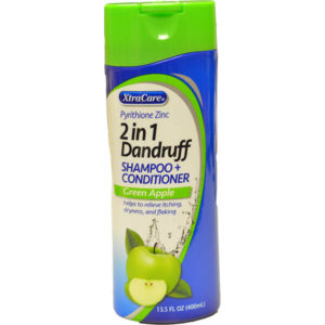 12 Pack Xtra Care 2 in 1 Dandruff Apple 13.5 oz