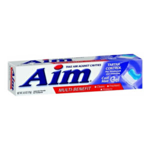 24 Pack Aim Cavity Protection Gel Toothpaste 7.2 oz