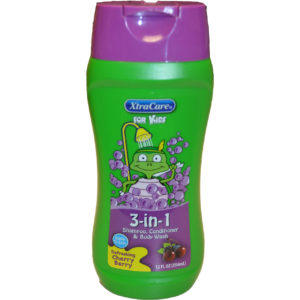 24 Pack Xtra Care Kids 3 in 1 Cherry 12 oz